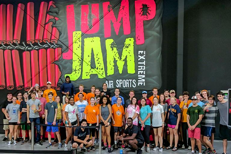 Engage Students at Jump Jam