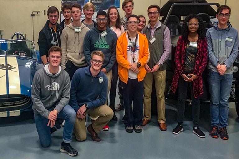 Students Visit Ornl